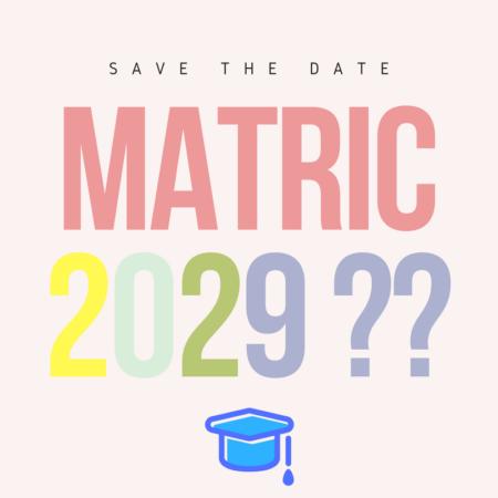 THE ODDS: GRADE 1 (2017) – MATRIC (2029)?