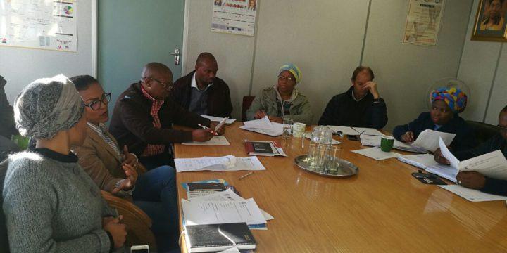 Developing Inclusive Teaching Practice between schools in the Motheo District