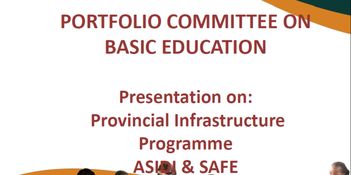 PORTFOLIO COMMITTEE ON BASIC EDUCATION PRESENTATION