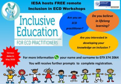 Free Remote Inclusion in ECD Workshops