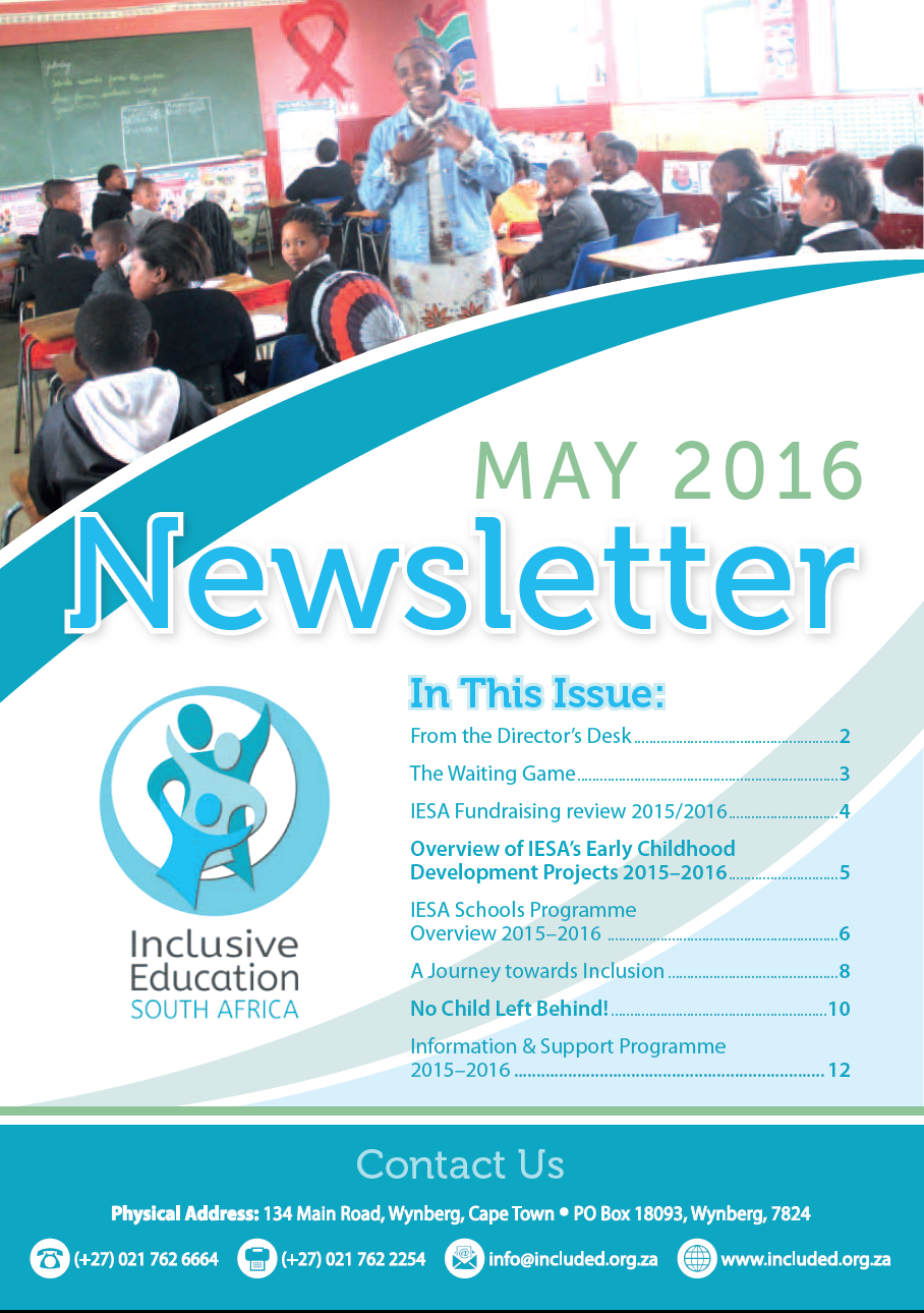 IESA Newsletter May 2016