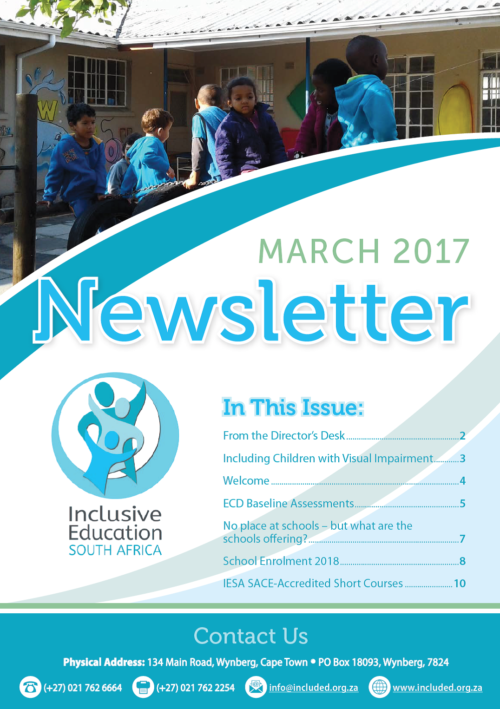IESA March Newsletter 2017