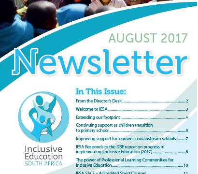 IESA August Newsletter 2017
