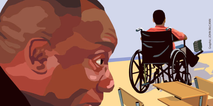 Lend children with disabilities a hand