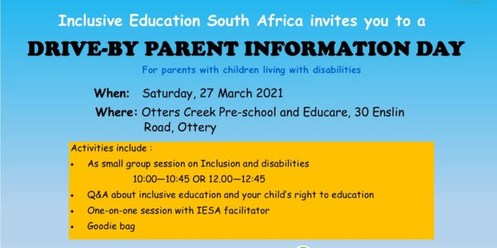 DRIVE-BY PARENT INFORMATION DAY